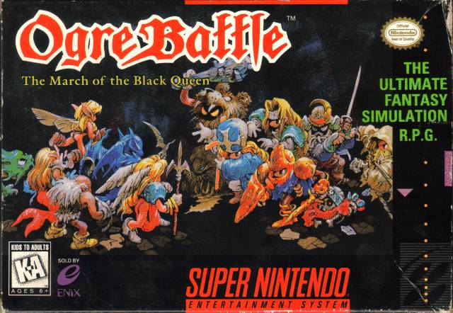Ogre Battle | Video Games of the Oppressed