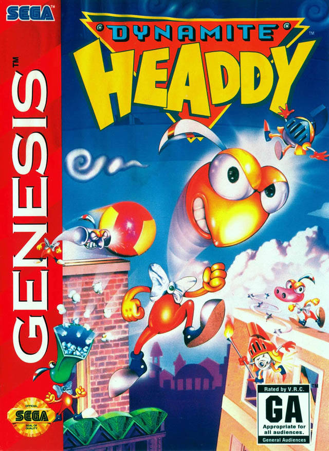Der Dynamite Headdy Video Games Of The Oppressed